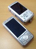 W54T-携帯のサイズ